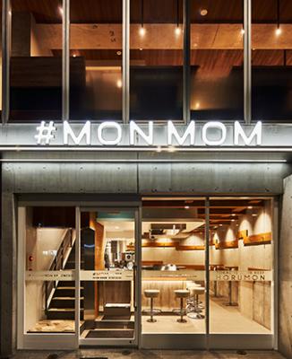 MONMOMの店舗イメージ