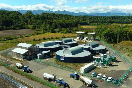 バイオガス発電施設の維持管理・運搬ドライバー